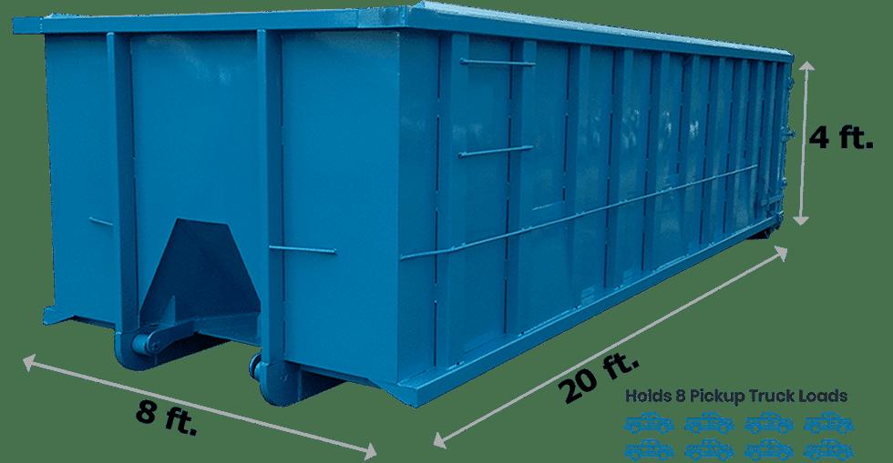 20 Yard Dumpster New