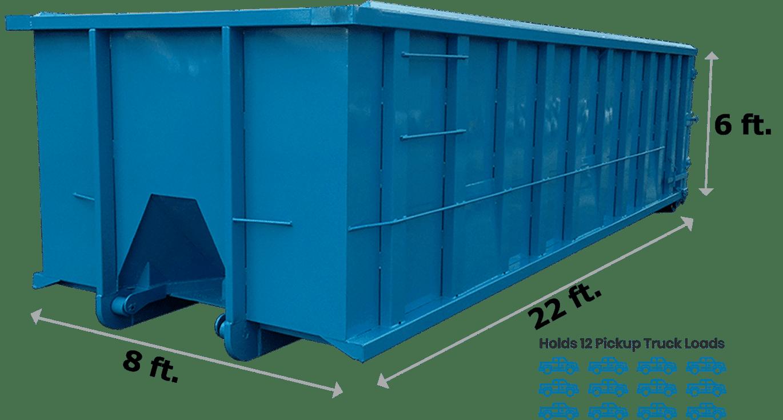 30 Yard Dumpster New